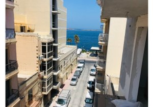 Estate agents Malta: 1 bedroom penthouse with a nice spacious terrace in St Paul's Bay malta, property malta, letting malta, real estate malta, simon mamo malta