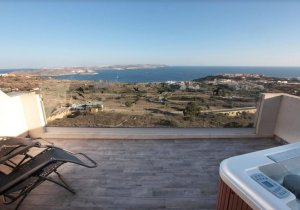 Gozo real estate: Stunning Duplex Apartment with views in Nadur malta, property malta, letting malta, real estate malta, simon mamo malta