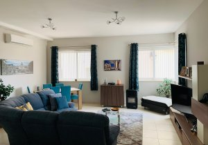 Malta real estate: Gharghur 3 double bedrooms with 1.5 car garage - fully furnished - For Sale malta, property malta, letting malta, real estate malta, simon mamo malta