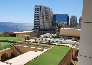 Real estate Malta: Spacious Apartment in Fort Cambridge for sale fully Furnished malta, property malta, letting malta, real estate malta, simon mamo malta